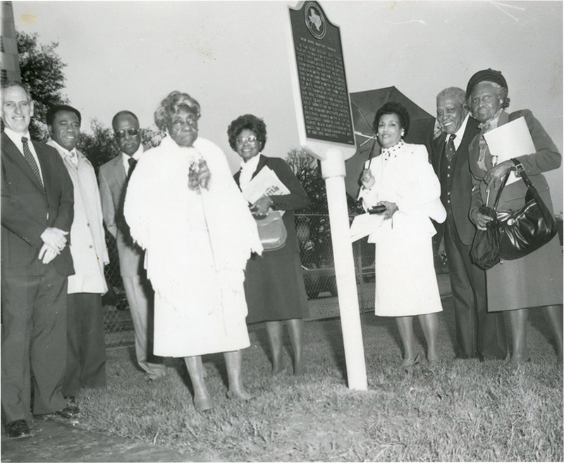 Dedication Ceremony for Historical Marker