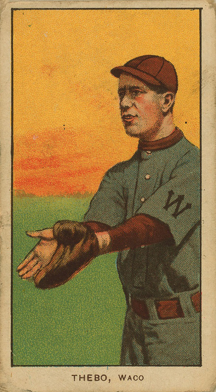 Old Mill Cigarettes Baseball Card (1909)