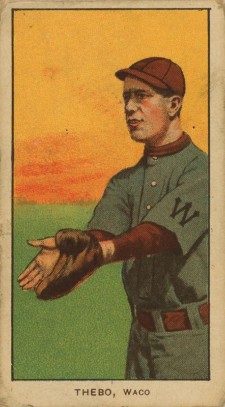 Old Mill Cigarettes Baseball Card (1909)