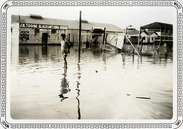 Flooded East Waco (c. 1936)