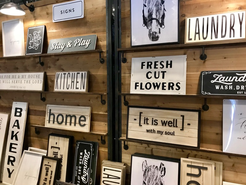 Signs and Shiplap