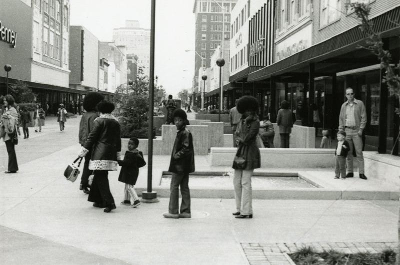 Strolling Shoppers