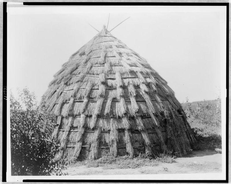 Wichita Grass Hut (c. 1927)