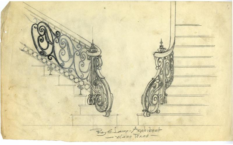 Bannister Design Sketch