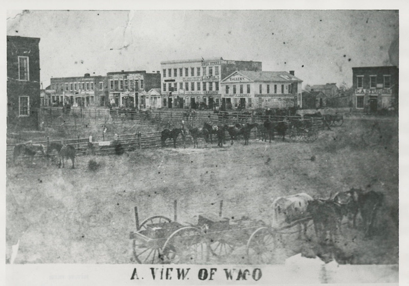 Waco City Square (c. 1865)