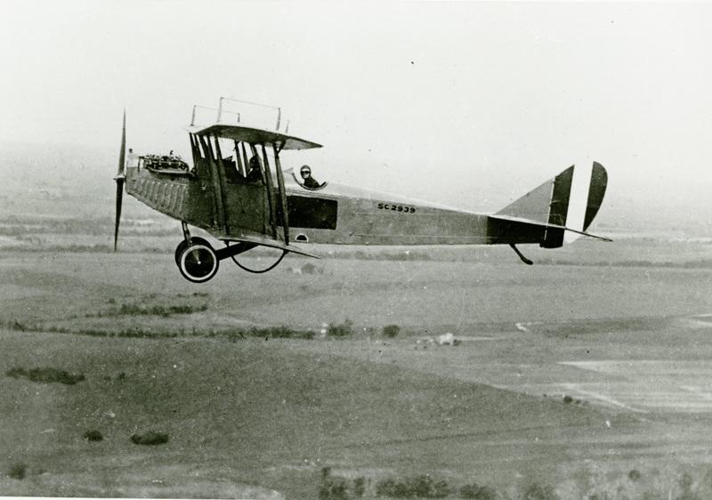 Photo Mid-flight