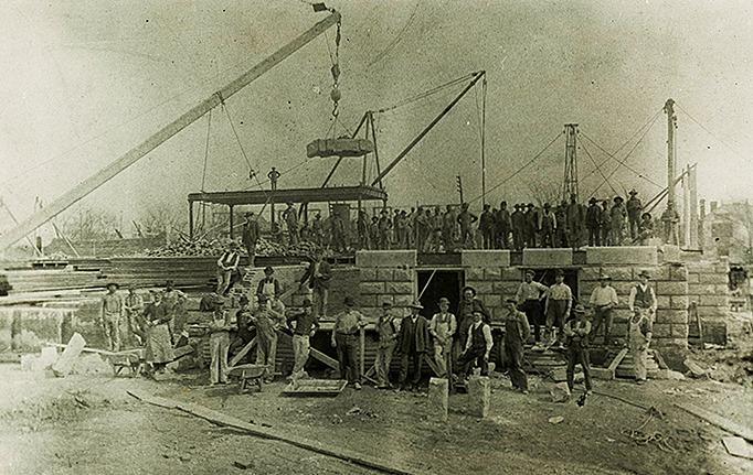 Construction Begins (1900)