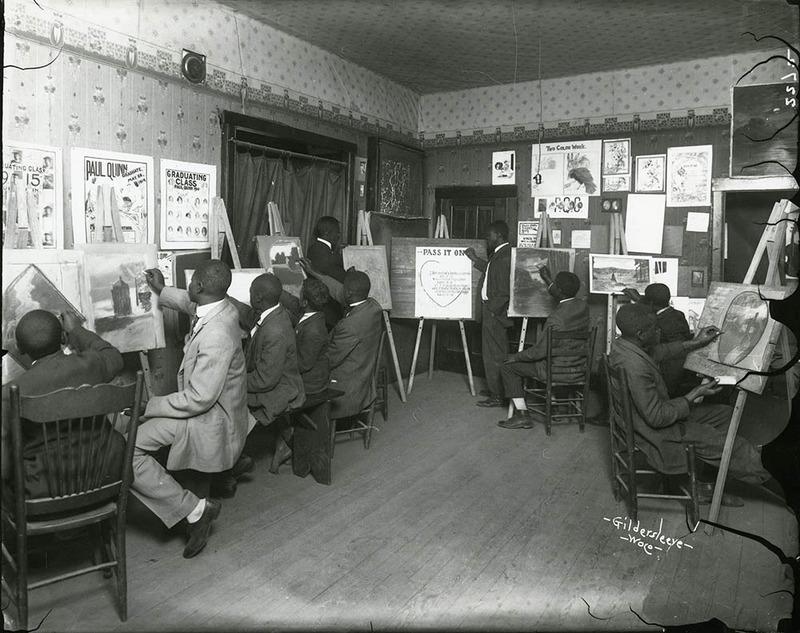 All-Male Art Class (1916)