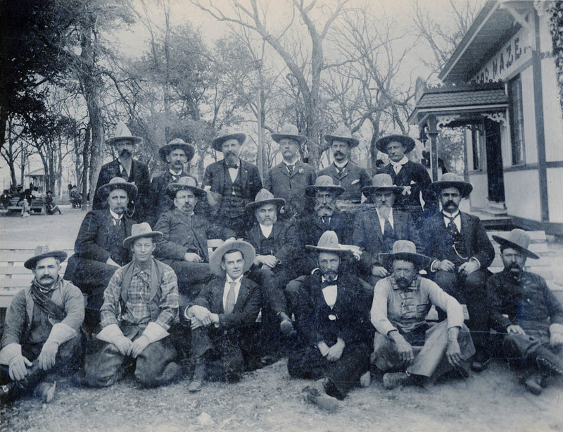 Texas Cotton Palace 1894 Board of Directors