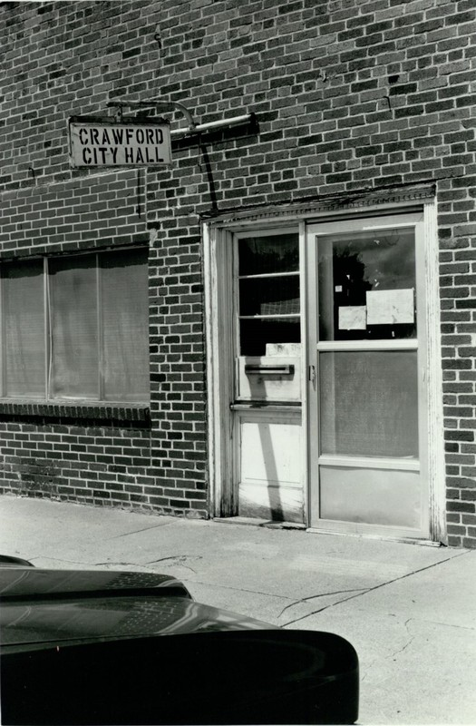 Downtown Crawford (c. 1980)