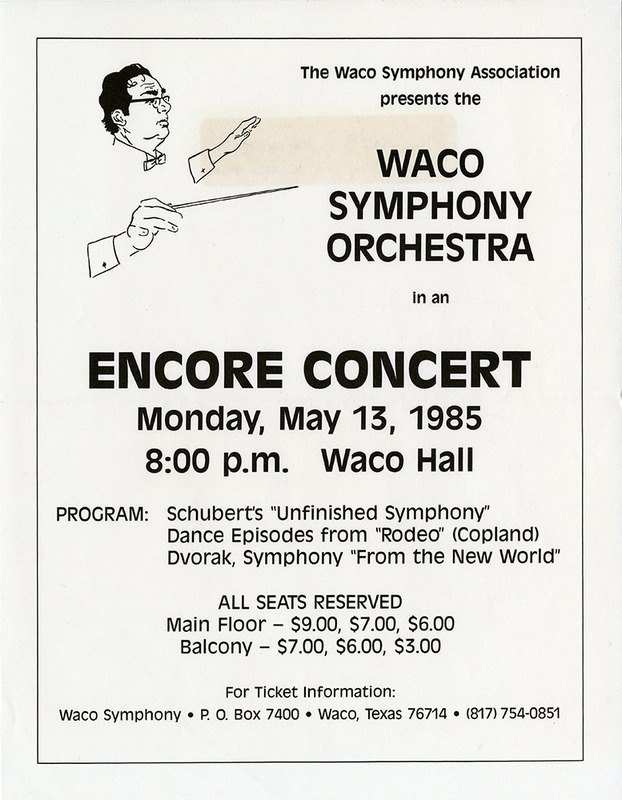 Eager for an Encore (1985)