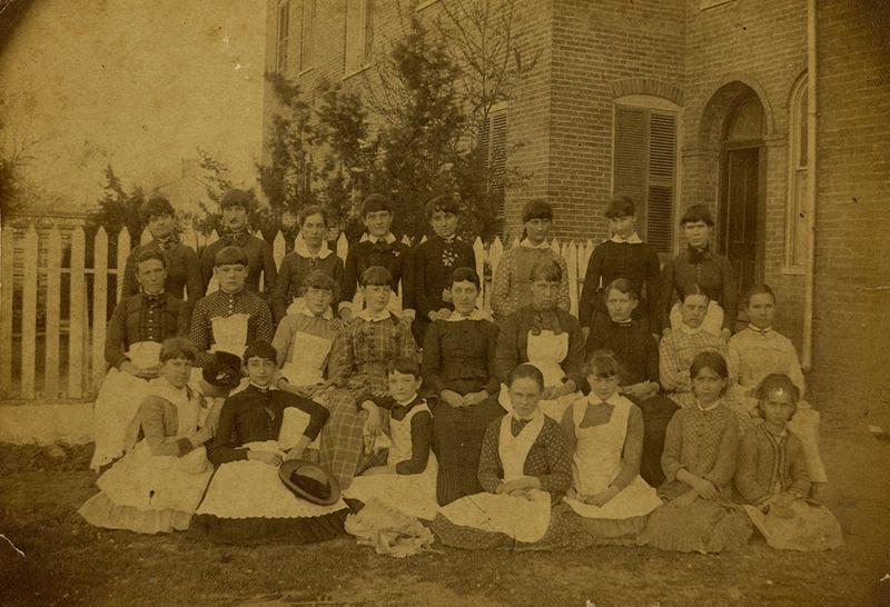 Day Scholars (c. 1885)