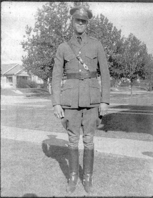 Charles in Uniform
