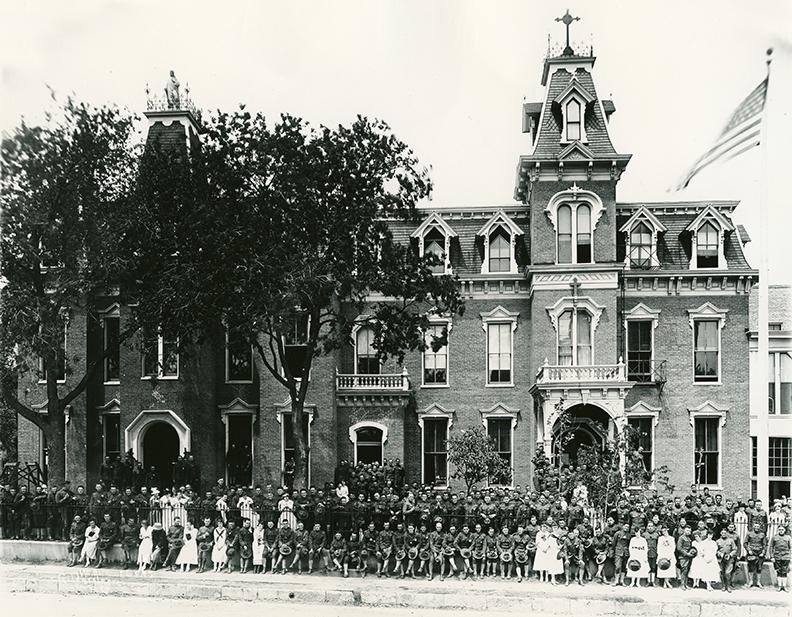 Academy of the Sacred Heart (c. 1918)