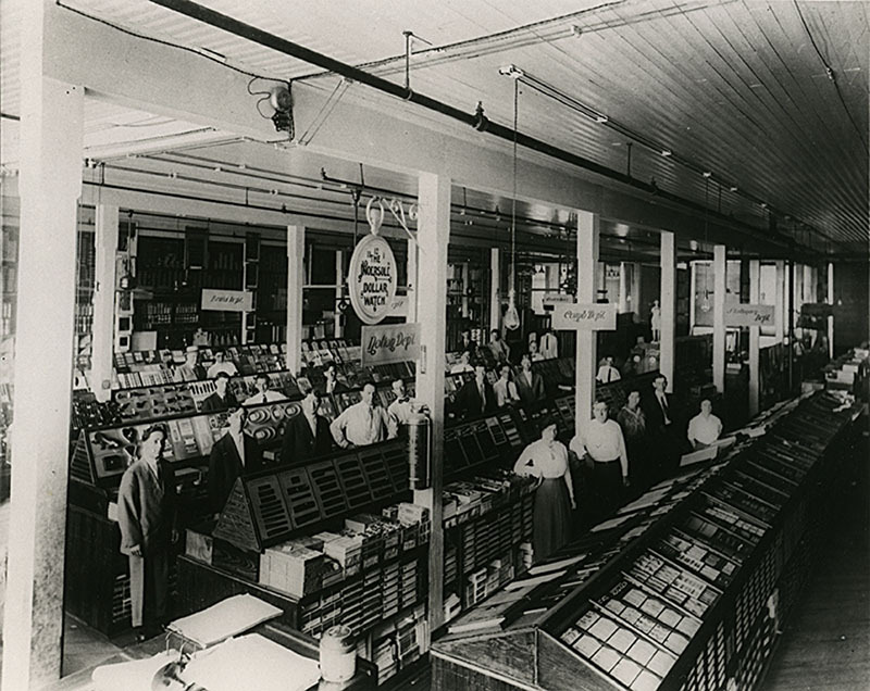 Sanger Employees (1910)