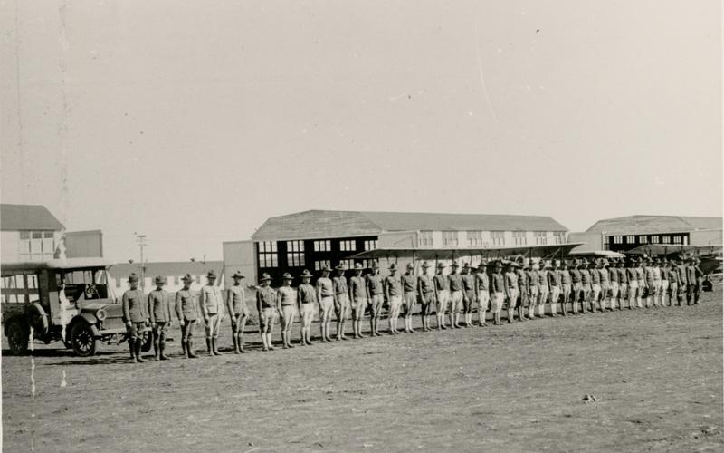 Cadet Line Up