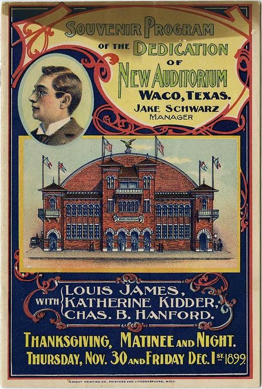 Souvenir Program (1899)