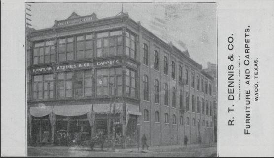 R. T. Dennis circa 1901