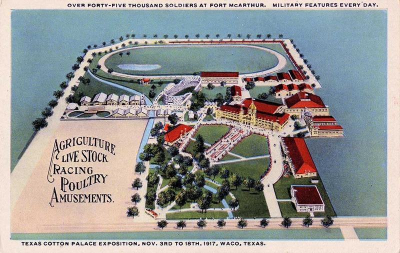 1917 Souvenir Postcard
