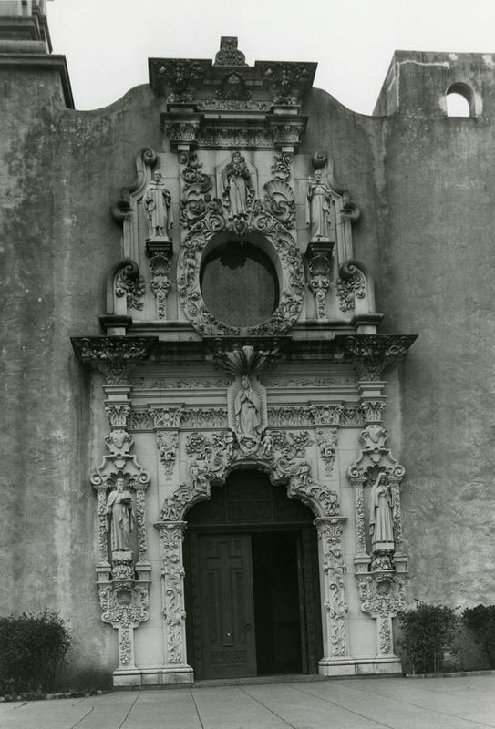 Entrance and Stone Facade