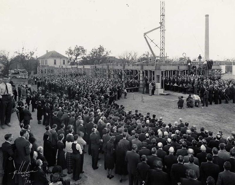Masonic Cornerstone-Laying Ceremony (December 7, 1938)