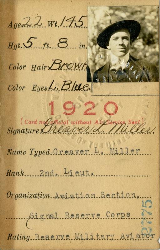 Pilot ID Card
