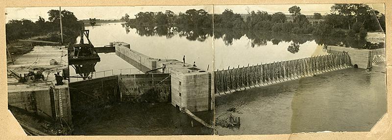Lock and Dam (c. 1914)