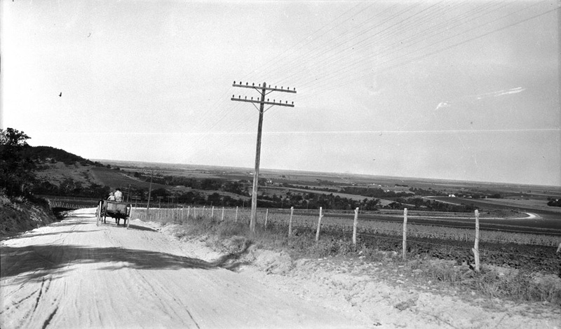 On the Road (c. 1917)
