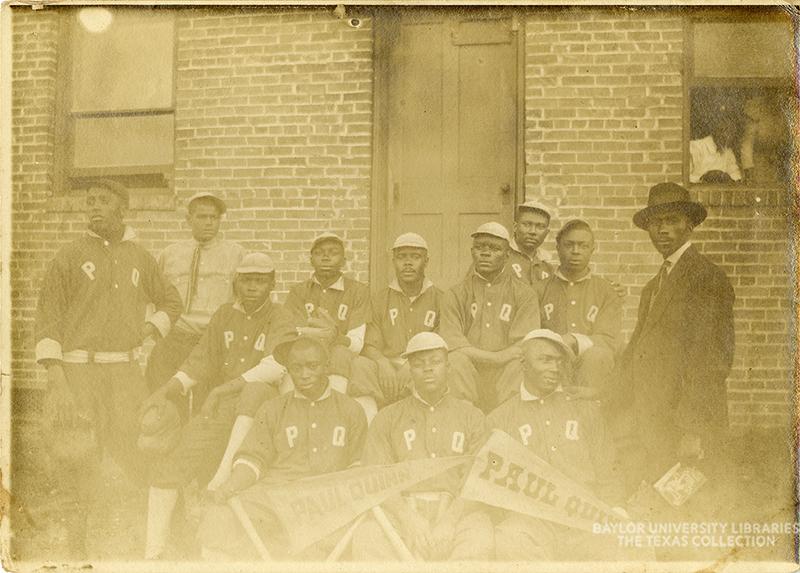 Baseball Team circa 1900